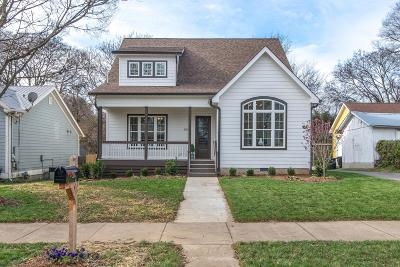 Nashville Single Family Home For Sale: 506 S 13th St