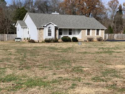Wilson County Single Family Home Under Contract - Not Showing: 311 Oak Point Ter