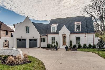 Nashville Single Family Home For Sale: 2219 Hobbs Rd