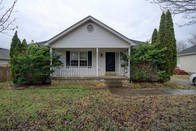 Rutherford County Single Family Home Under Contract - Not Showing: 2122 Golfield Ct