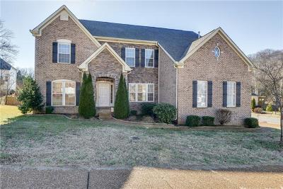 Nashville Single Family Home Under Contract - Not Showing: 1700 Haleys Hope Ct