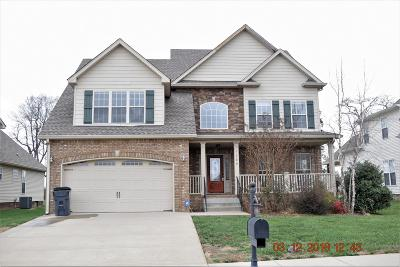 Christian County, Ky, Todd County, Ky, Montgomery County Single Family Home For Sale: 1369 Judge Tyler Dr