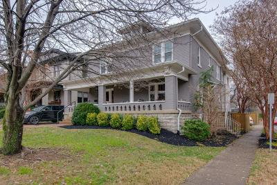 Single Family Home For Sale: 2516 Belmont Blvd