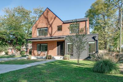 Nashville Single Family Home For Sale: 2211 Carter Ave