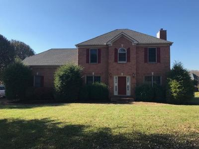Franklin Single Family Home For Sale: 1328 Ascot