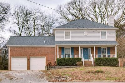 Mount Juliet Single Family Home Under Contract - Showing: 1225 Cedarbend Dr