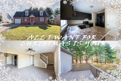 Clarksville TN Single Family Home Under Contract - Not Showing: $159,900