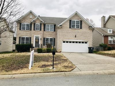 Williamson County Single Family Home For Sale: 841 Cranberry Ln