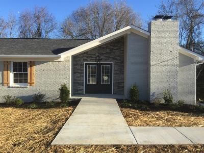 Columbia Single Family Home For Sale: 2140 Nashville Highway