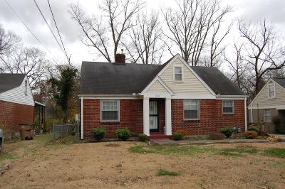 Nashville Single Family Home For Sale: 2818 Bronte Ave