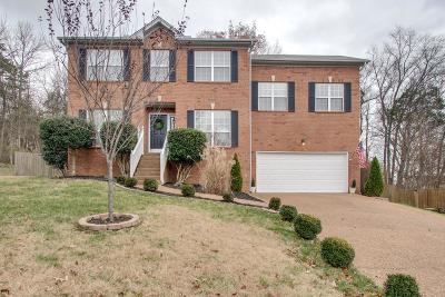 Mount Juliet Single Family Home Under Contract - Showing: 2426 Keeling Dr