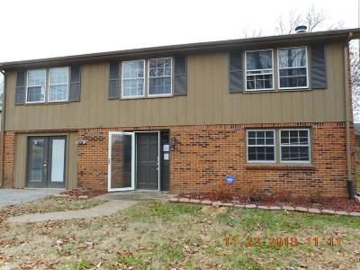 Christian County, Ky, Todd County, Ky, Montgomery County Single Family Home For Sale: 3116 Trenton Rd