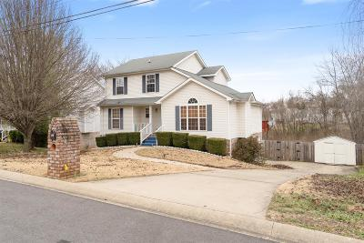Clarksville TN Single Family Home Under Contract - Not Showing: $189,900