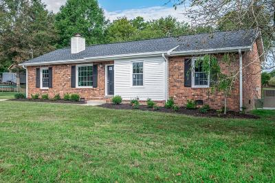 Hendersonville Single Family Home Under Contract - Not Showing: 115 Crestview Dr