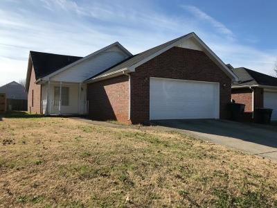 Rutherford County Single Family Home Under Contract - Not Showing: 603 Freedom Ct