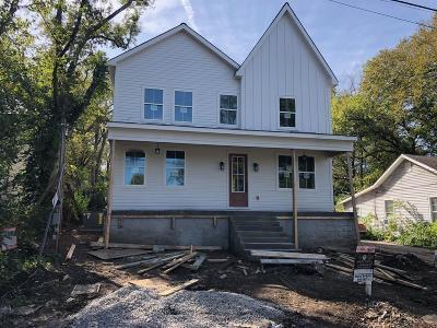 Nashville Single Family Home For Sale: 5807 Leslie Ave