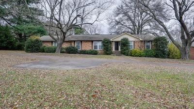 Brentwood Single Family Home For Sale: 5709 Cloverland Pl
