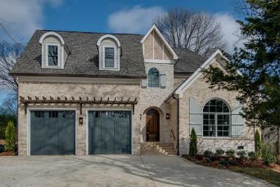Nashville Single Family Home For Sale: 1124 Battery Ln