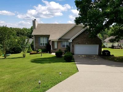 Dickson TN Single Family Home Under Contract - Not Showing: $193,000