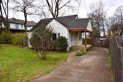 Nashville Single Family Home Under Contract - Not Showing: 2407 N 16th St