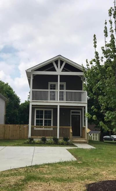 East Nashville Single Family Home Under Contract - Showing: 201 McKennell Dr