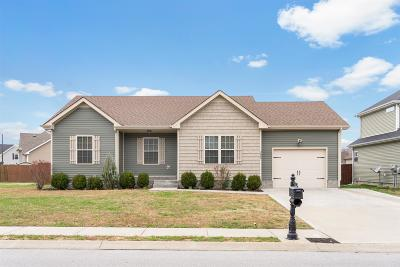 Clarksville TN Single Family Home Under Contract - Not Showing: $160,000