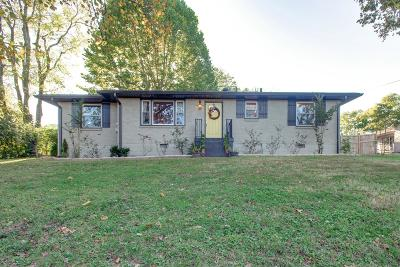 Nashville Single Family Home For Sale: 900 Mitchell Rd