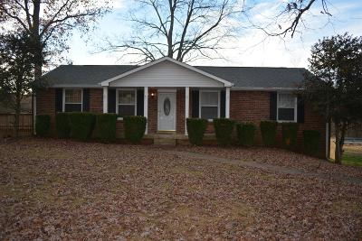 Christian County, Ky, Todd County, Ky, Montgomery County Rental For Rent: 105 Robin Hood Drive