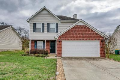 Spring Hill  Single Family Home For Sale: 2010 Deer Valley Dr