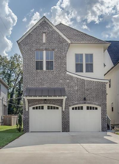 Nashville TN Single Family Home For Sale: $769,900
