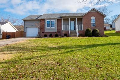 Goodlettsville Single Family Home Under Contract - Not Showing: 128 Jesse Brown Dr
