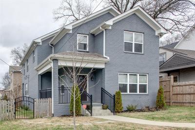 Nashville Single Family Home For Sale: 1319 Otay St