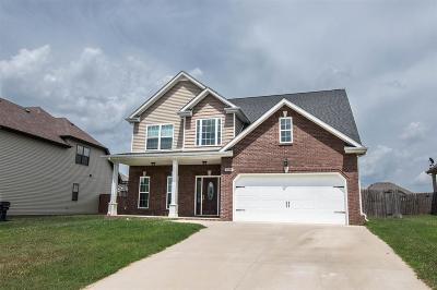 Christian County, Ky, Todd County, Ky, Montgomery County Rental For Rent: 1199 Snowball Lane