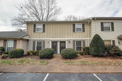Franklin Condo/Townhouse For Sale: 1011 Murfreesboro Rd Unit K3 #K3