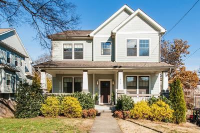 Nashville Single Family Home Under Contract - Showing: 1716 Rosewood Ave