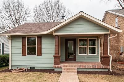 Sylvan Park Single Family Home Under Contract - Showing: 5212 Elkins Ave