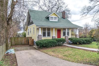 Nashville Single Family Home For Sale: 1106 Chester Ave