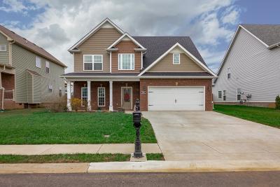 Clarksville Single Family Home For Sale: 1093 Thrasher Dr