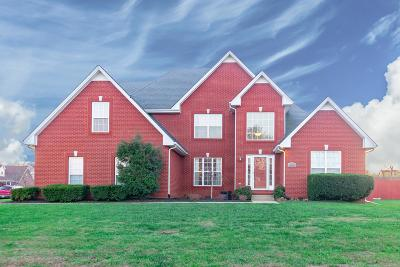 Clarksville Single Family Home Under Contract - Not Showing: 815 Ellie Nat Dr