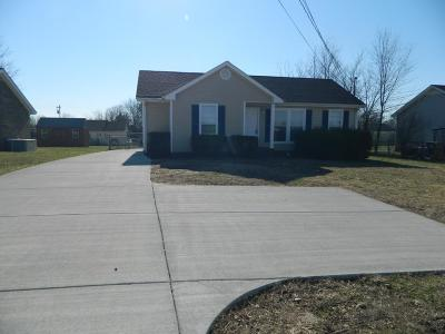 Christian County, Ky, Todd County, Ky, Montgomery County Rental For Rent: 936 Tiny Town Road