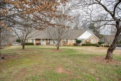 Winchester Single Family Home For Sale: 1480 Dripping Springs Rd