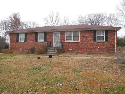 Sumner County Single Family Home Under Contract - Not Showing: 4707 Austin Peay Hwy