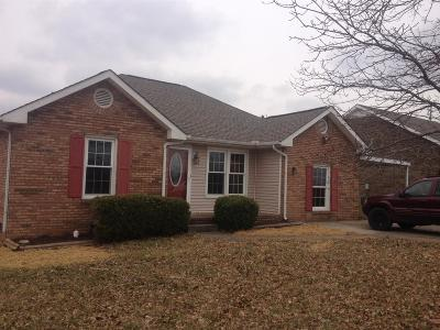 Christian County, Ky, Todd County, Ky, Montgomery County Rental For Rent: 1021 McClardy