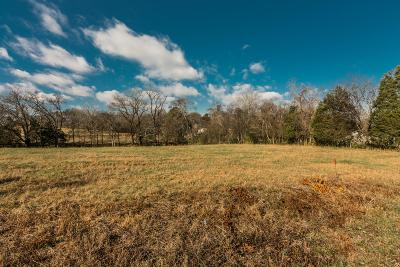 Mount Juliet Residential Lots & Land For Sale: 9 Saunderville Ferry Road