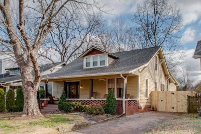 Davidson County Single Family Home Under Contract - Showing: 408 N Wilson Blvd