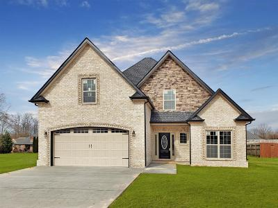 Clarksville Single Family Home For Sale: 7 Woodford Estates