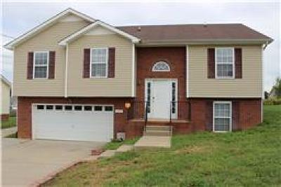 Christian County, Ky, Todd County, Ky, Montgomery County Rental For Rent: 3399 Bradfield Drive
