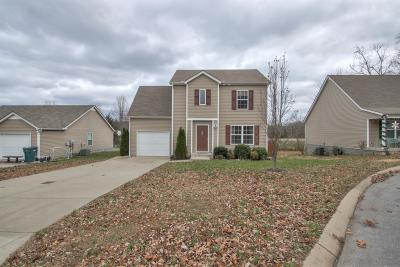 Lebanon Single Family Home Under Contract - Showing: 1209 Woodall Rd