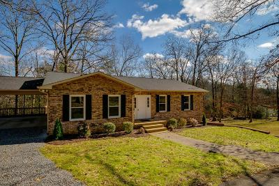Kingston Springs Single Family Home For Sale: 206 Harpeth View Trl