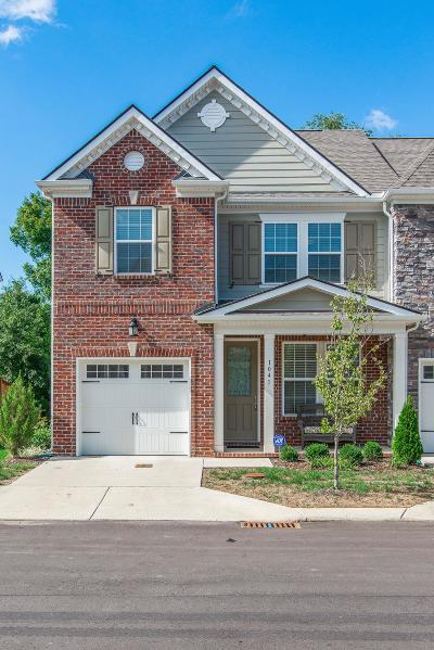 Mount Juliet Condo/Townhouse For Sale: 1041 Livingstone Lane